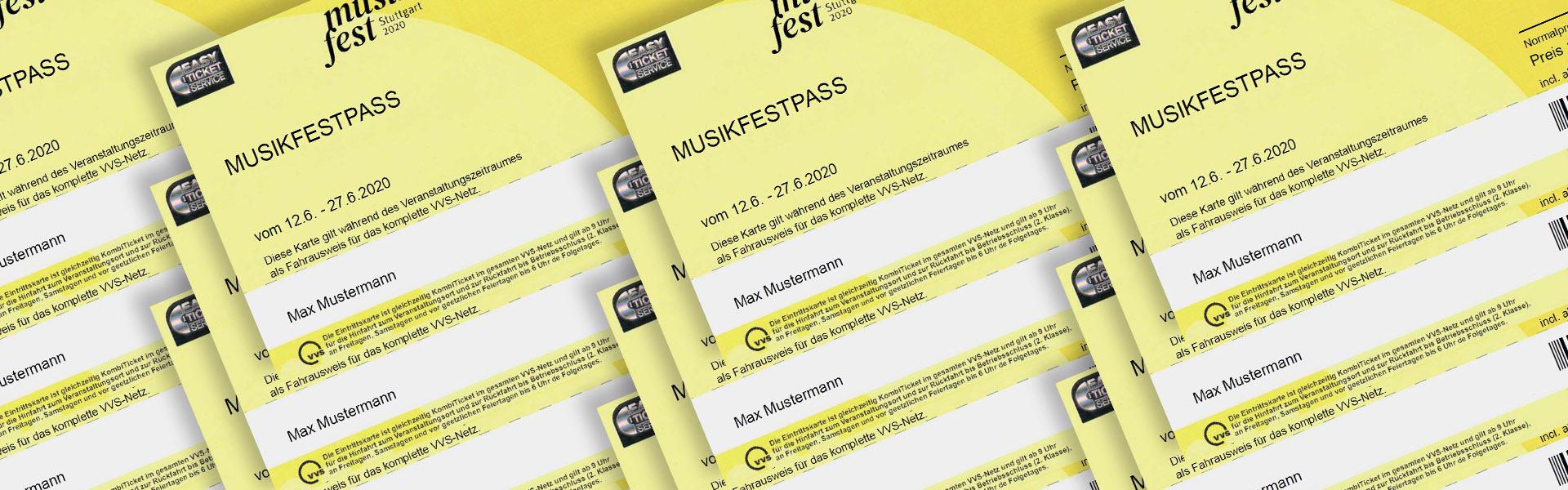 Spitzenmäßig: der Musikfest-Pass