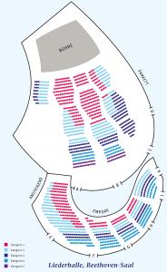 Sitzplan Beethoven-Saal