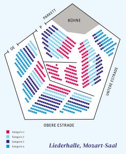 Sitzplan Mozart-Saal