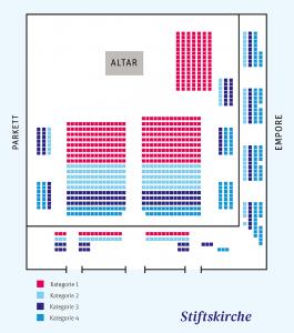 Sitzplan Stiftskirche