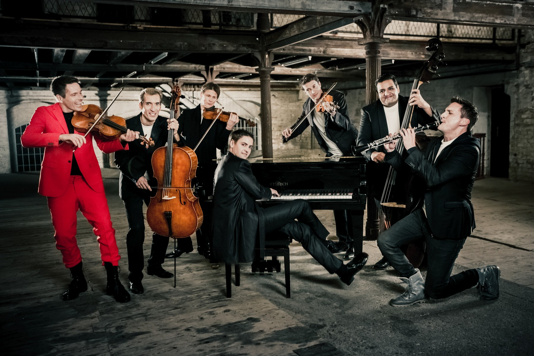 Ensemble Philharmonix (Foto: Max Parovsky)
